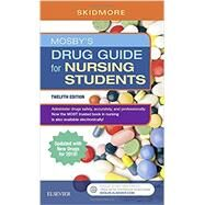 Mosby's Drug Guide for Nursing Students with 2018 Update, 12e by Skidmore-Roth, Linda, R.N., 9780323447904