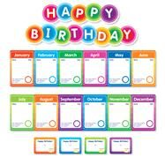 Color Your Classroom: Birthdays Mini Bulletin Board by Unknown, 9781338127904