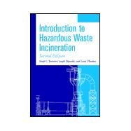 Introduction to Hazardous Waste Incineration by Santoleri, Joseph J.; Reynolds, Joseph; Theodore, Louis, 9780471017905