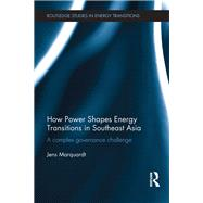 How Power Shapes Energy Transitions in Southeast Asia: A complex governance challenge by Marquardt; Jens, 9781138677906