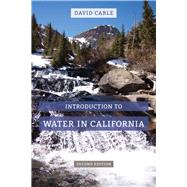 Introduction to Water in California by Carle, David, 9780520287907
