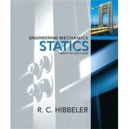 Engineering Mechanics : Statics by Hibbeler, Russell C., 9780136077909