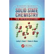Solid State Chemistry: An Introduction, Fourth Edition by Smart; Lesley E., 9781439847909