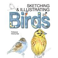 Sketching & Illustrating Birds: Professional Drawing Class by Varela, Juan, 9780764167911