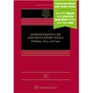 Administrative Law and Regulatory Policy by Breyer, Stephen G.; Stewart, Richard B.; Sunstein, Cass R.; Vermeule, Adrian; Herz, Michael E., 9781454857914