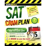 Cliffsnotes Sat Cram Plan by Ma, William; Burstein, Jane R., 9780544577916