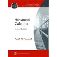 Advanced Calculus by Fitzpatrick, Patrick M., 9780821847916