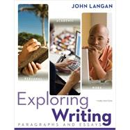 Exploring Writing: Paragraphs and Essays w/ Connect Writing 3.0 Access Card by Langan, John, 9781259657917