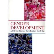 Gender Development by Blakemore; Judith E. Owen, 9780415647922