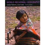 World Regional Geography (with Subregions) by Pulsipher; Pulsipher, 9780716777922