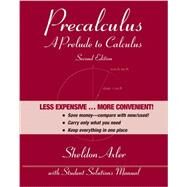 Precalculus by Axler, Sheldon, 9781118087923