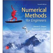 Numerical Methods for Engineers by Chapra, Steven; Canale, Raymond, 9780073397924