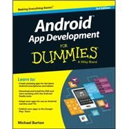 Android App Development for Dummies by Burton, Michael, 9781119017929