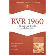 RVR 1960 Biblia Letra Grande con Referencias, damasco/coral s�mil piel by Unknown, 9781433607929