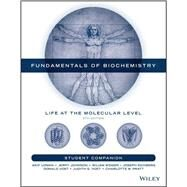 Student Companion to Accompany Fundamentals of Biochemistry 5E by VOET, 9781119267935