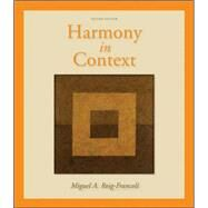 Harmony in Context by Roig-Francoli, Miguel, 9780073137940