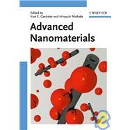 Advanced Nanomaterials by Geckeler, Kurt E.; Nishide, Hiroyuki, 9783527317943