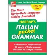 Harrap's Pocket Italian Grammar by Harrap, 9780071627948