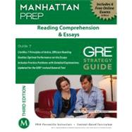 Reading Comprehension and Essays GRE Strategy Guide, 3rd Edition by Manhattan Prep, -, 9781935707950