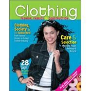 Clothing: Fashion, Fabrics &amp; Construction by Weber, Jeanette, 9780078767951