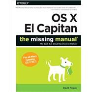 OS X El Capitan: The Missing Manual by Pogue, David, 9781491917954