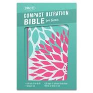 NKJV Compact Ultrathin Bible for Teens, Green Blossoms LeatherTouch by Unknown, 9781433617959