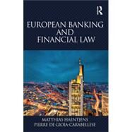 European Banking and Financial Law by Haentjens; Matthias, 9781138897960