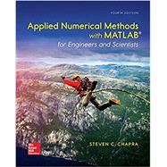 Applied Numerical Methods with MATLAB for Engineers and Scientists by Chapra, Steven, 9780073397962