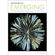 Emerging Contemporary Readings for Writers by Barrios, Barclay, 9781457697968