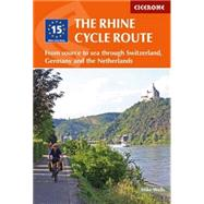 Cicerone The Rhine Cycle Route by Wells, Mike, 9781852847975