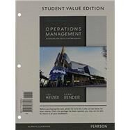 Operations Management (STUDNT VALUE ED&STUDENT CD PKG) by HEIZER & RENDER, 9780133407983