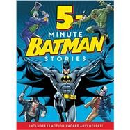 5-minute Batman Stories by Lemke, Donald (ADP), 9780062357984