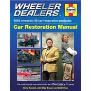 Wheeler Dealers Car Restoration Manual by Haynes, 9780857337986