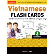 Vietnamese Flash Cards Kit by Tran, Bac Hoai, 9780804847988