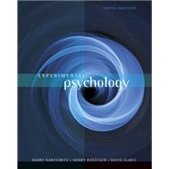 Experimental Psychology by Kantowitz, Barry H.; Roediger, III, Henry L.; Elmes, David G., 9781111357993