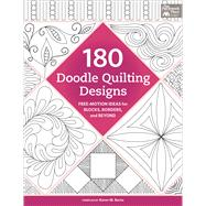 180 Doodle Quilting Designs by Burns, Karen M., 9781604687996