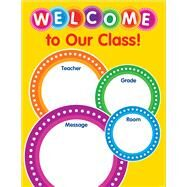 Color Your Classroom: Welcome Chart by Scholastic, 9781338127997