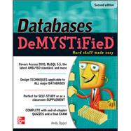 Databases DeMYSTiFieD, 2nd Edition by Oppel, Andy, 9780071747998