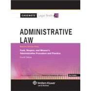 Administrative Law Keyed to Funk, Shapiro & Weaver&#8217;s Administrative Procedure and Practice at Biggerbooks.com