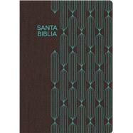 RVR 1960 Biblia para Regalos y Premios, café/turquesa símil piel by Unknown, 9781433608001