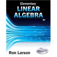 Elementary Linear Algebra by Larson, Ron, 9781305658004