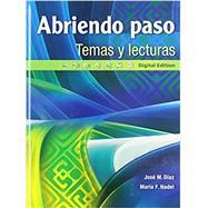 Abriendo Paso Lectura Grade 12 SE (NWL) by Diaz, Nadel, 9780133238006
