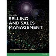 Selling and Sales Management 10th edn by Jobber, David; Lancaster, Geoffrey, 9781292078007