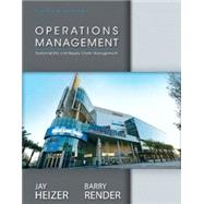 Operations Management and Student CD by HEIZER & RENDER, 9780133408010
