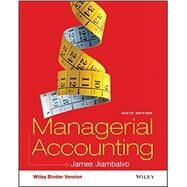 Managerial Accounting by Jiambalvo, James, 9781119158011