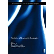 Varieties of Economic Inequality by Fadda; Sebastiano, 9781138928015