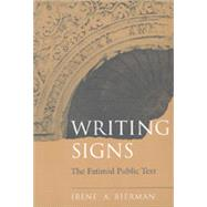 Writing Signs by Bierman, Irene A., 9780520208025