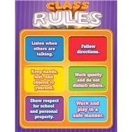 Class Rules Chart by Carson-Dellosa Publishing Company, Inc., 9781483838038