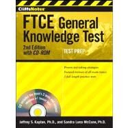 CliffsNotes FTCE General Knowledge Test, with CD-ROM by Kaplan, Jeffrey S.; Luna McCune, Sandra, 9781118018040