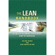 The Lean Handbook: A Guide to the Bronze Certification Body of Knowledge by Manos, Anthony; Vincent, Chad, 9780873898041
